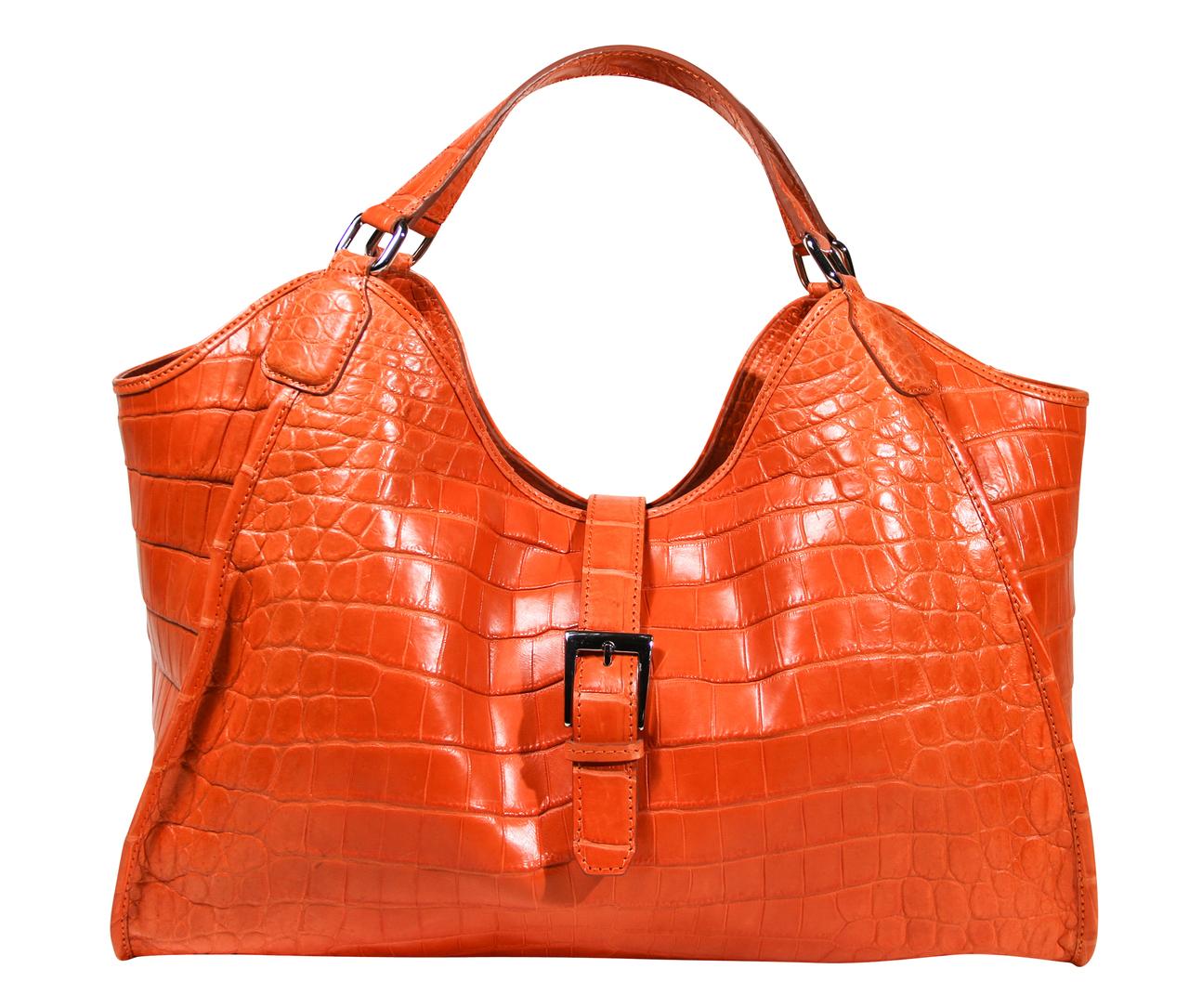 Colette 14' - Orange Crocodile