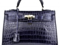 Grace 32 - Dark Blue Crocodile