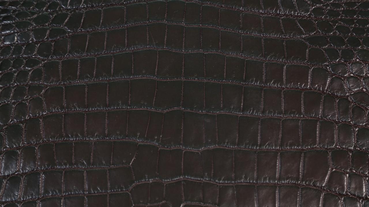 Nile Crocodile - Garment Grade - Dark Brown