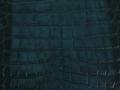 Freshwater Crocodile - Matte Waxy - Dark Aqua - Ombré
